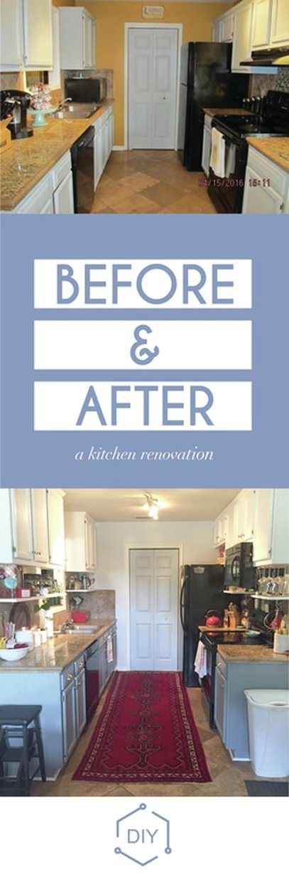 DIY Kitchen reveal with tutorials every step of the way.